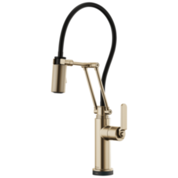 Litze™ SmartTouch® Articulating Faucet with Industrial Handle 64244LF
