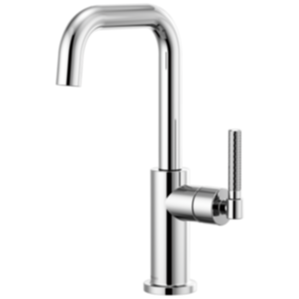 Litze™ Bar Faucet with Square Spout and Knurled Handle 61053LF