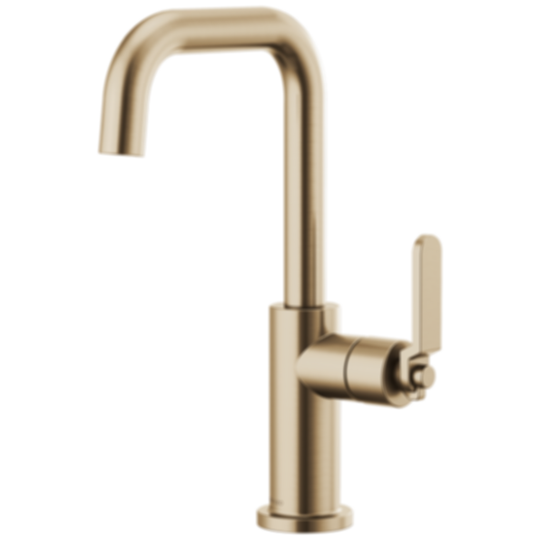Litze™ Bar Faucet with Square Spout and Industrial Handle 61054LF