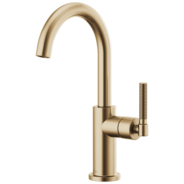 Litze™ Bar Faucet with Arc Spout and Knurled Handle 61043LF