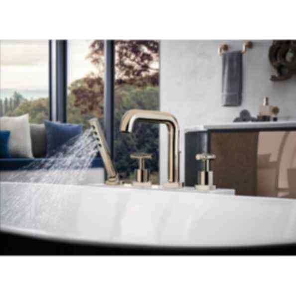 Litze™ Roman Tub with Handshower - Less Handles T67435-PCLHP--HL633-PC