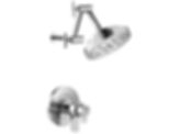 Litze™ TempAssure® Thermostatic Shower Only - Less Handles T60235-PCLHP--HL6032-PC--R60000-UNBX