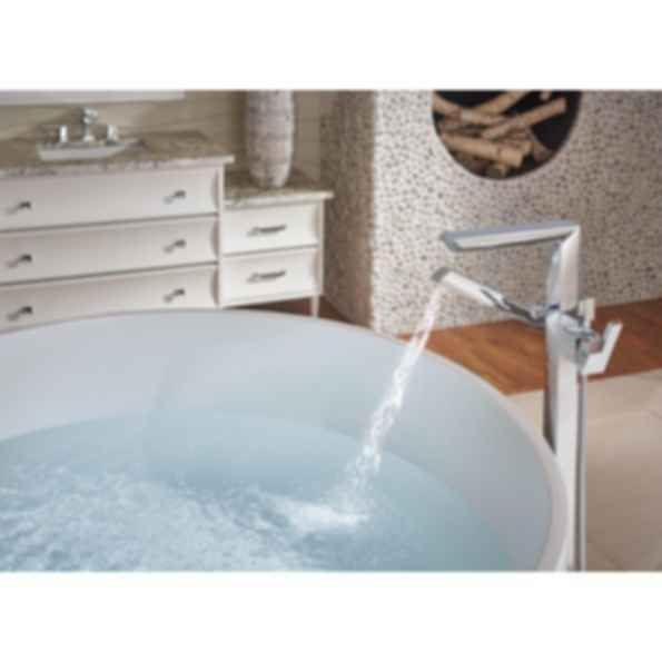 Vettis™ Single-Handle Floor Mount Tub Filler T70188