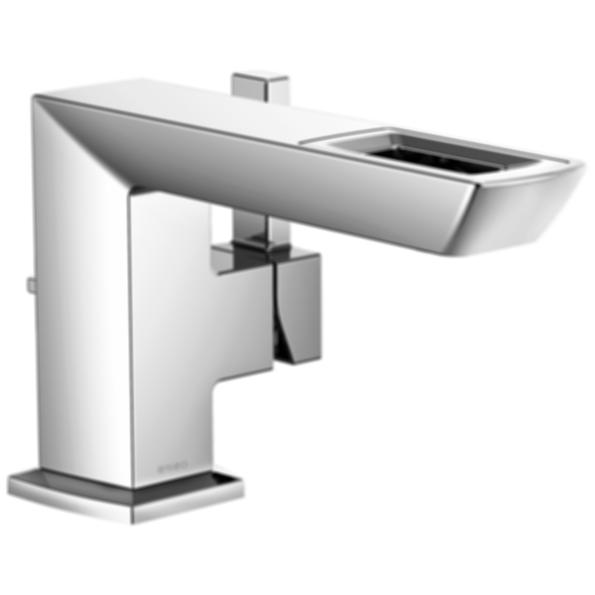Vettis™ Single-Handle Lavatory Faucet with Open-Flow Spout 65086LF-ECO