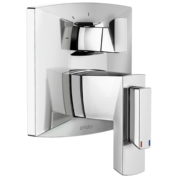 Vettis™ TempAssure® Thermostatic Valve with Integrated 3-Function Diverter T75588