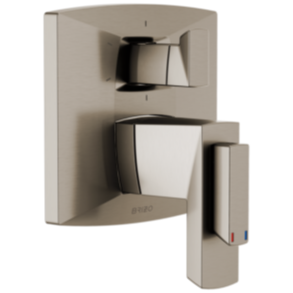 Vettis™ TempAssure® Thermostatic Valve with Integrated 6-Function Diverter Trim T75688