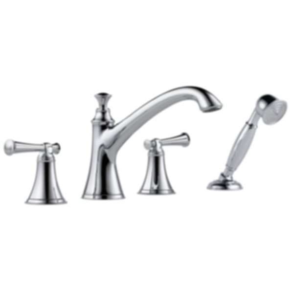 Baliza® Roman Tub Trim with Hand Shower T67405-PCLHP--HL605-PC--R64707