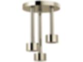 Litze™ Ceiling Mount Pendant Raincan Showerhead 81335