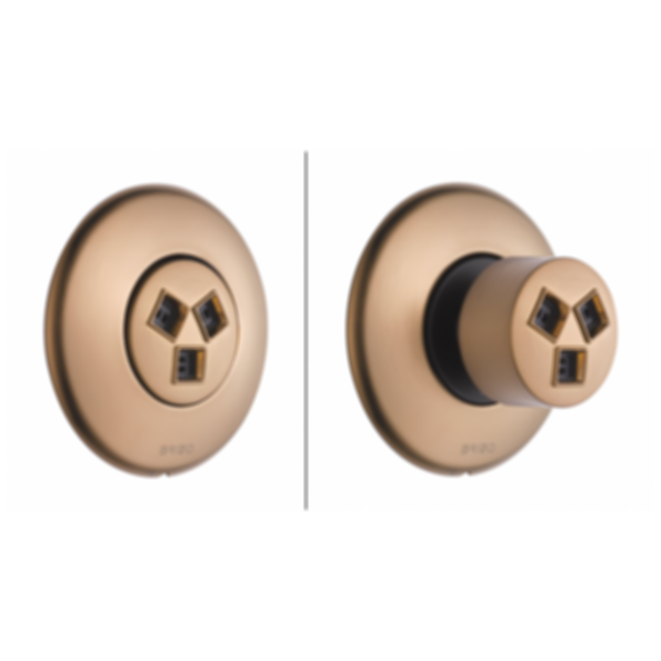 HydraChoice™ Max Round Trim T84613-PC--SH84101-PC--R84100