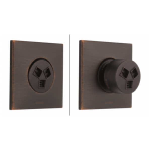 HydraChoice™ Max Round Trim T84913-PC--SH84103-PC--R84100