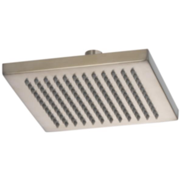 Brizo Square Ceiling Mount Raincan Showerhead - 2.0 GPM 83341-ECO