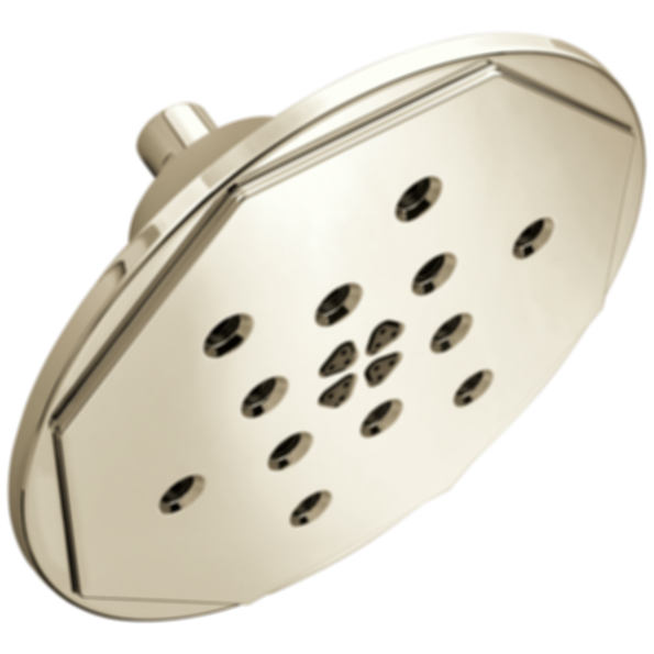 Rook™ 4-Function Raincan Showerhead with H2OKinetic® Technology