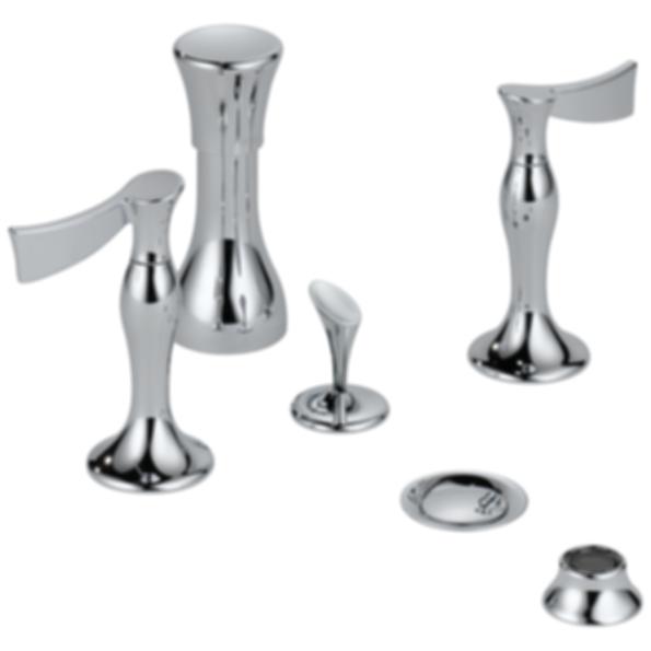 RSVP® Bidet Faucet - Less Handles 68490-PCLHP--HL5390