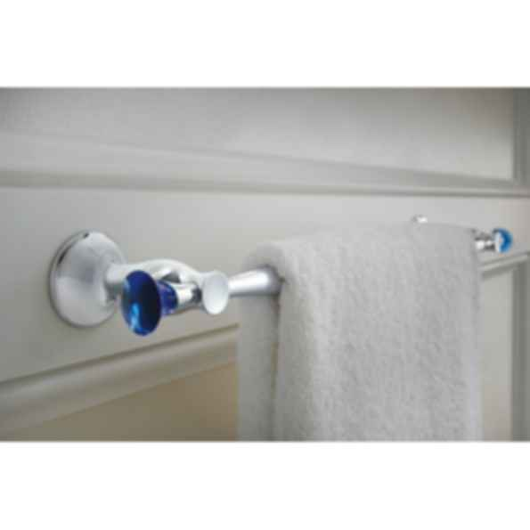 RSVP® Blue Glass Finial Accessory 2 RP48905