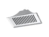 RSVP® Ceiling Mount Raincan Showerhead RP48043