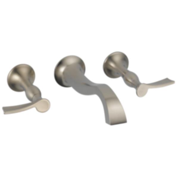 RSVP® Wall-Mount Vessel Lavatory Faucet - Less Handles 65890LF-PCLHP--HX5890