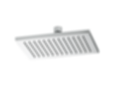 Siderna® Rectangular Raincan Showerhead - 2.0 GPM 81380-ECO