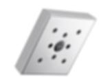 Siderna® Square Raincan Showerhead with H2OKinetic® Technology 87380