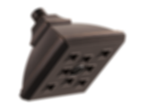 Vesi® Raincan Showerhead with H2OKinetic® Technology 87340