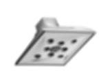 Virage® Raincan Showerhead with H2OKinetic® Technology 87330