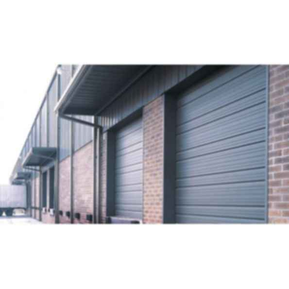 Amarr 2402 Series Ribbed Panel Steel Garage Door