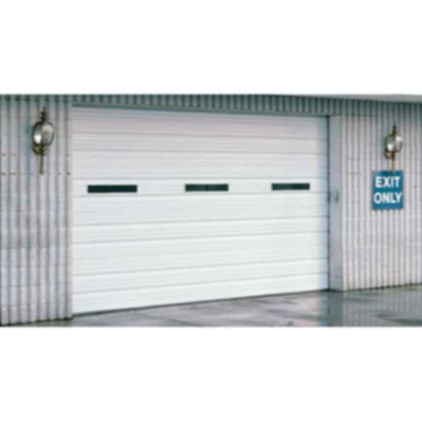 Amarr 2502 Series Ribbed Panel Steel Garage Door