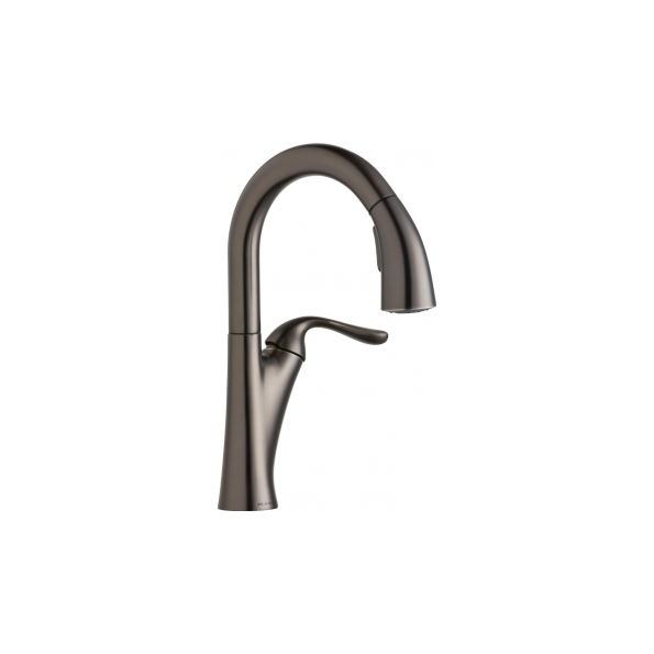 Elkay Harmony Single Hole Bar Faucet with Pull-down Spray and ...