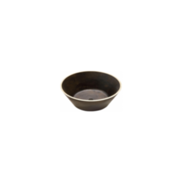 Elkay Asana Cast Brass Single Bowl Vessel Bathroom Sink