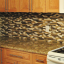 Ornamental Dark Granite Countertop