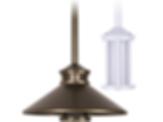 Miniature Beacon Stem Mount Pendant Solid State Light
