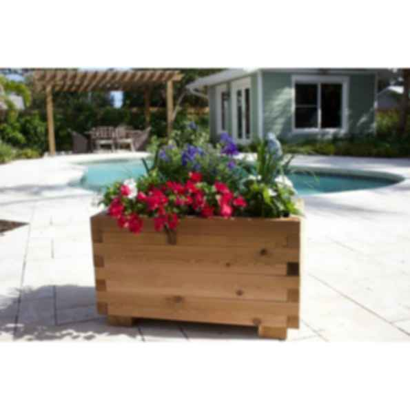 Cedar Planter Box Kit