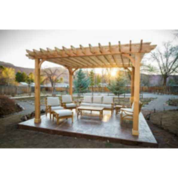 Big Kahuna Pergola Kit