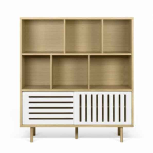 Dann Striped Cupboard