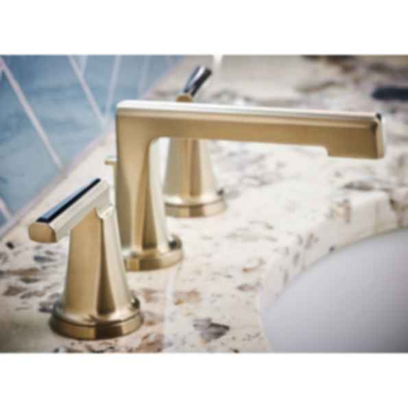 Levoir™ Widespread Lavatory Faucet with Low Spout - Less Handles 65397LF-PCLHP--HX5398