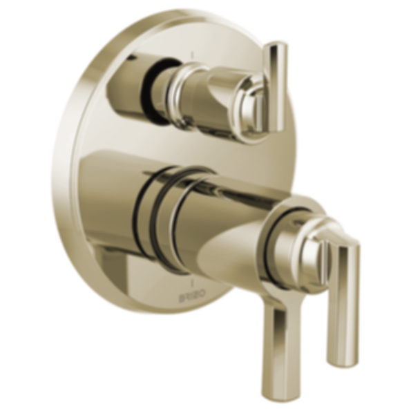 Levoir™ TempAssure® Thermostatic Valve with Integrated 3-Function Diverter Trim T75598