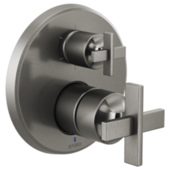 Levoir™ Pressure Balance Valve with Integrated 6-Function Diverter Trim - Less Handles T75P698