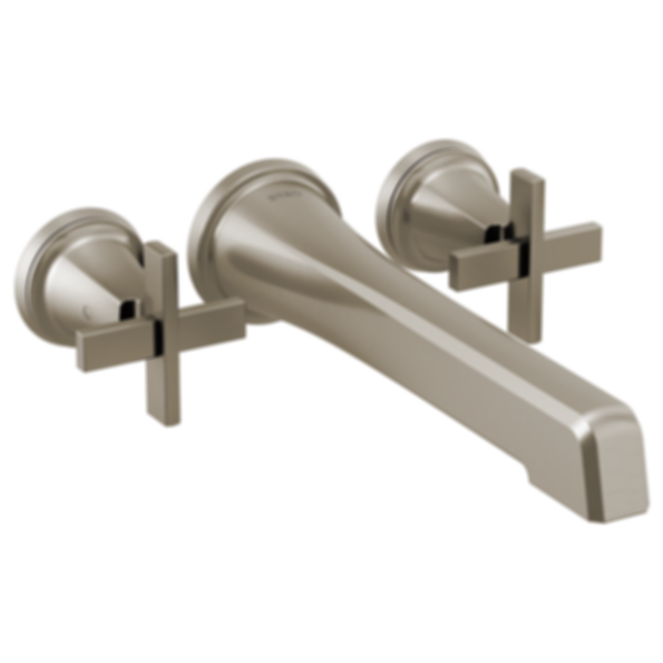 Levoir™ Two Handle Wall Mount Tub Filler - Less Handles T70498