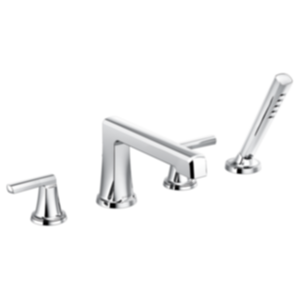 Levoir™ Roman Tub Faucet with Handshower - Less Handles T67498