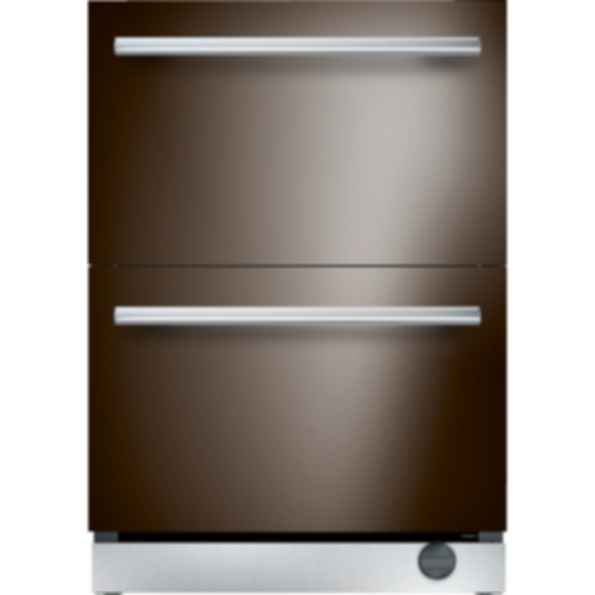24 inch Custom Panel Under Counter Combo Drawer Refrigerator and Freezer T24UC900DP