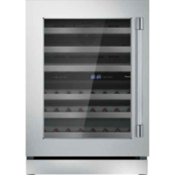 24 inch Professional Under Counter Left Hinge Glass Door Wine Reserve T24UW920LS