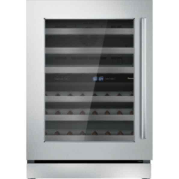 24 inch Masterpiece Under Counter Left Hinge Glass Door Wine Reserve T24UW910LS