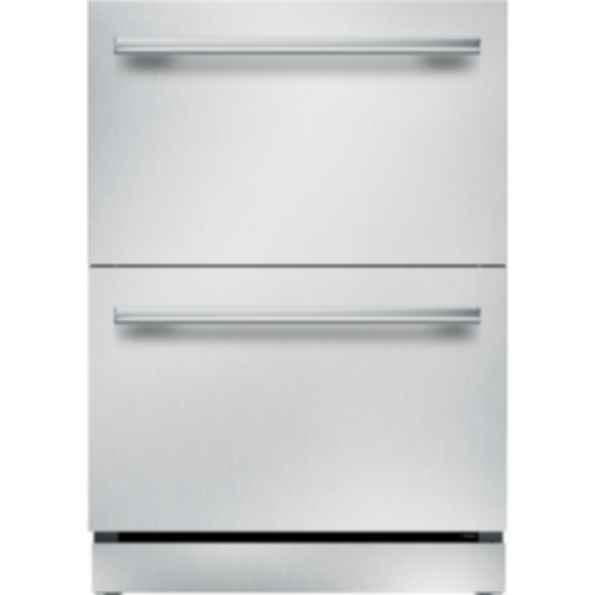 24 inch Masterpiece Under Counter Double Drawer Refrigerator T24UR910DS