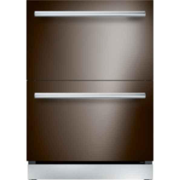 24 inch Custom Panel Under Counter Double Drawer Refrigerator T24UR900DP