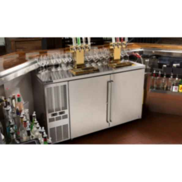Perlick Dual Zone Back Bar Refrigerated Cabinets