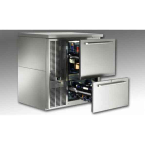Self-Contained Single-Zone Back Bar Refrigerators