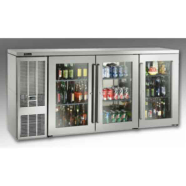 Self-Contained Narrow-Door Back Bar Refrigerators
