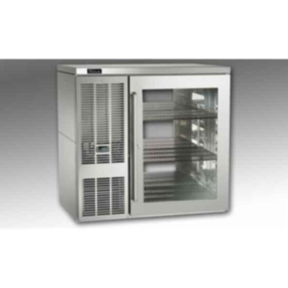 Self-Contained Pass-Thru Back Bar Refrigerators