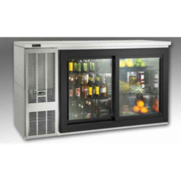 Self-Contained Sliding-Door Back Bar Refrigerators