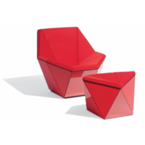 Washington Prism™ Lounge Chair and Ottoman