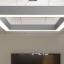 Quad Frame Pendant Lamp